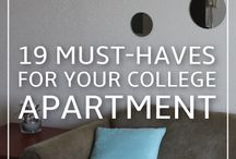 College Apartment Ideas / by Kelly Svagr