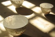Rice/translucent porcelain