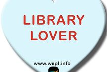 WNPL's Library Valentines / Share your #librarylove with WNPL's custom Valentines! / by Warren-Newport Public Library