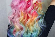 color hairstyle
