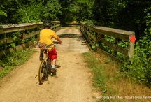 400 & Elroy Sparta State Bike Trails.. / Photos from 2 of our favorite Wisconsin Bike Trails