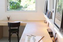 Ateliers d'artistes :Idées d'aménagement / Artistes Art Aménagement Idées Ateliers d'artiste art-studio Pour améliorer le mien et partager avec les autres  ! ^^