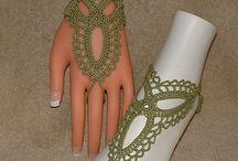 manos y pies crochet