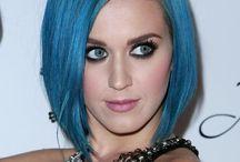 blauwe haren kapsels