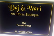 Daj and wari / An etnic boutique
