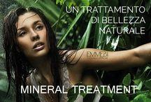 TRATTAMENTI MINERAL / Nella Linea Mineral Treatment By Emmebi Italia si fondono i principi dell'oligoterapia,dell'aromaterapia,della fitoterapia e della moderna biochimica.Ecco la risposta professionale e naturale della bellezza e cura di cute e capelli.