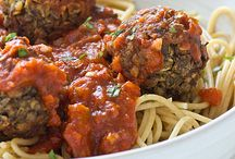 Vegan Meatballs, Meatloaf, Burgers, etc / by L G