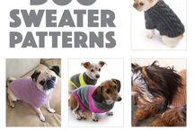 Dog sweater pattern