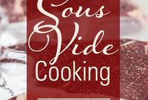 Sous Vide Recipes / The sous vide method of cooking is great for the grilling enthusiast seeking that perfectly pink center, or a frequent entertainer who wants to wow guests with a tender roast, or a family that just wants easy and flexible cooking.