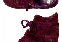The wedge sneaker