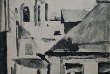 Lebedev –  watercolours, drawings, graphic arts