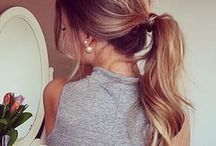The ultimate updo / The power of the ponytail <3