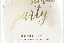 Holiday Party / by Grace Lorenzen