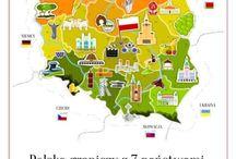 mapa I sąsiedzi