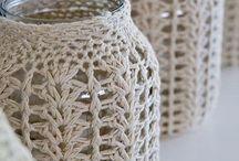frascos al crochet