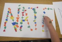 Names ~ Identifying and Writing / Ideas for teaching your child to identify and write his/her name!