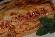 Pasta & pizza yumm