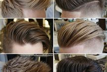 Penteados masculinos