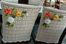 Crochet sillas