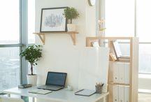 Cosy Korner Design / Astuces déco & organisation pour votre coin bureau.