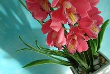 ART&FLOWERS / Art & Flower è un laboratorio artigianale che realizza creazioni floreali fatte con argilla thailandese.