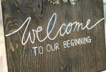 Welcome signs - Wedding