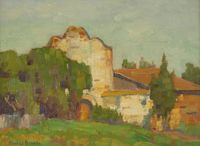 California Mission Images / John Moran Auctioneers Altadena Ca Fine Art featuring California Missions