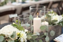 Outdoor wedding decor