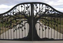 afscheiding / poorten en hekken