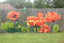 flower mural ideas