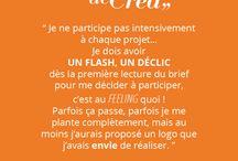 Paroles de Créa / Citations de designers freelance inscrits sur Creads.fr