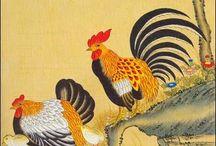 korean traditional paintings