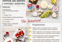 Polecane przepisy / Poznaj sprawdzone przepisy na smaczne i uwielbiane potrawy oraz słodkości! Podziel się nimi ze swoimi znajomymi i rodziną.