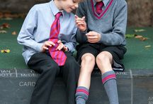 kids with uniform
