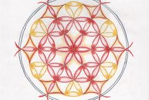 LEVENSBLOEMEN / Prijsvraag over de maand oktober - Mandala en Tekentaal - Teken jouw visie van de Levensbloem  Wedstrijd uitgeschreven door het Educatief Mandala Instituut