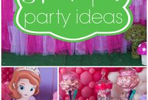 Sofia the First Party Ideas / by Valerie Wales