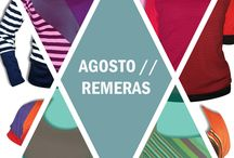 REMERAS  por  AGOSTO DISEÑO // SHIRTS