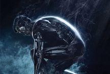 Favorite movies / Terminator, Aliens, Prometheus, Dredd biro, Vasember, Ördög ügyvédje, Deadpool, X-men, Batman: Darknight, Superman, Fürész, Gonosz halott, Másnaposok, Transformers, Brian élete, A mentöexpedicio, Ted, Elysium, Madmax, Feledés