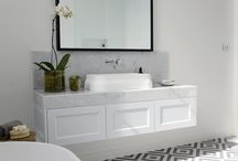 TAILORED SPACE // bathrooms / Bathrooms that inspire our design work.