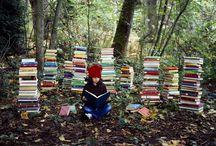 Books, glorious books! / by ❧ Holly Garrett ❧❧