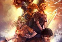 Heroes of olympus & Percy Jackson
