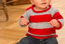 Red heart free child sweater