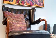 Nieuwe meubels / Deze meubels zijn allemaal opnieuw gestoffeerd en klaar voor de verkoop. Als u intresse heeft, laat gerust iets weten!  www.meubelstoffeerderijriapruissen.nl