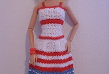 Doll clothes crochet and toys / Crocheted doll clothes and toys / by Maritza DeJesus