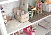 Dollhouse for Barbie dolls!