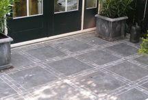 terras tegels