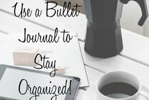Bullet Journaling / Tips and tricks and epic examples of bullet journaling.