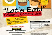 """""""Let's Eat"""" Colouring Competition"""