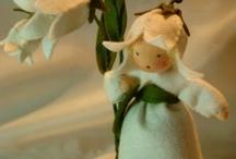 Flower dolls