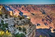 Grand Canyon Pictures / Collection of best Grand Canyon pictures - one of the most beautiful, majestic natural wonders in the world.  Thank Goodness this wonder is located so close to Las Vegas - just a day's trip! When you see the Grand Canyon for the first time you won't believe your eyes - you might think such beautify simply cannot exist. The canyon looks different in the morning, afternoon and evening as colors change depending on the angle of the sun rays...